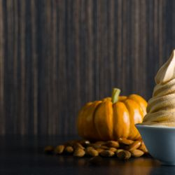 Pumpkin Almond Soft Serve Image