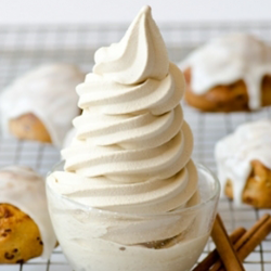 Cinnamon Bun Soft Serve Image