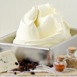 Curry Gorgonzola Raisin Gelato Image