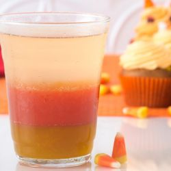 Candy Corn Mocktail