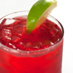 Pomegranate Italian Soda Image