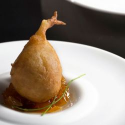 Beer Battered Crab Beignets with Mango Chutney Image