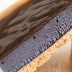 Dark Chocolate Ganache Tart