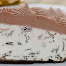 Mint Chocolate Chip Gelato Pie Image