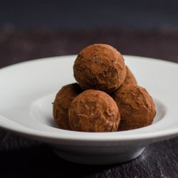 Mascarpone Milk Chocolate Truffle Image