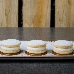 Alfajor Gelato Sandwiches