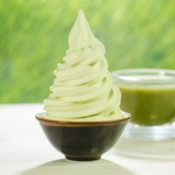 Green Tea Soft Serve Image