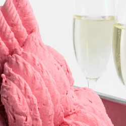Strawberry Sparkling Wine Sorbetto Image