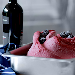 Blackberry Merlot Sorbetto