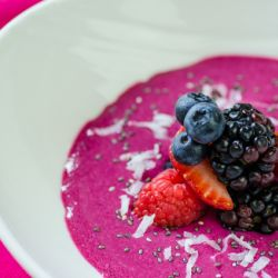 Berry Beet Smoothie Bowl Image