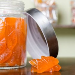 Orange Gummy Candies Image