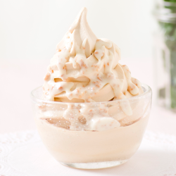 Salted Caramel Banana Soft Serve Image