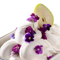Pear and Violet Sorbetto Image
