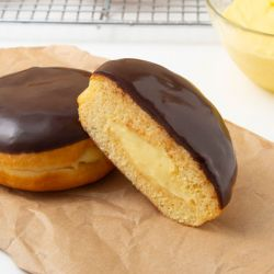 Boston Cream Donuts Image