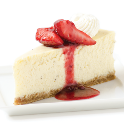 Cheesecake with Wild Strawberry Light Arabeschi® Image