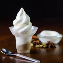 Mascarpone Soft Serve Affogato w/ Chai Tea Image