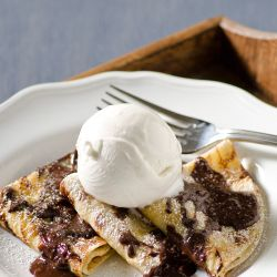 Coffee Crunch Crepes Image