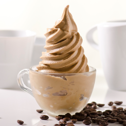 Thai Milk Coffee Soft Serve Image