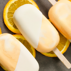 Orange Cream Frozen Pops Image