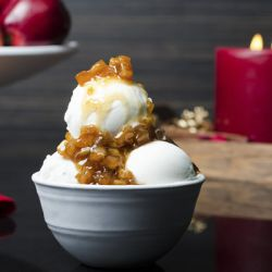 Cinnamon Apple Pie Gelato Image