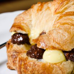 Chocolate Hazelnut Croissants Image