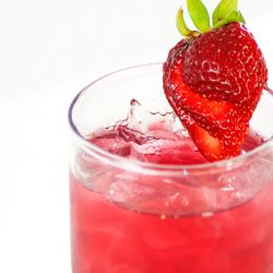 Strawberry Italian Soda Image