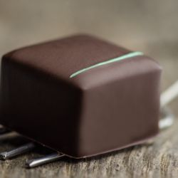 Dark Chocolate Mint Bonbon Image