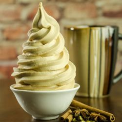 Chai+Tea+Soft+Serve Image