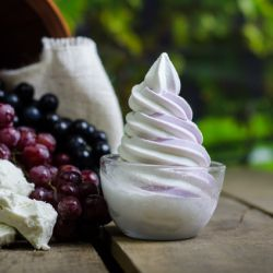 Grape & Goat Cheese Soft Serve Image