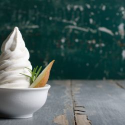 Pear Rosemary soft serve Image