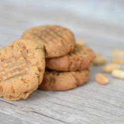 Sugar-Free Salted Peanut Cookie Image