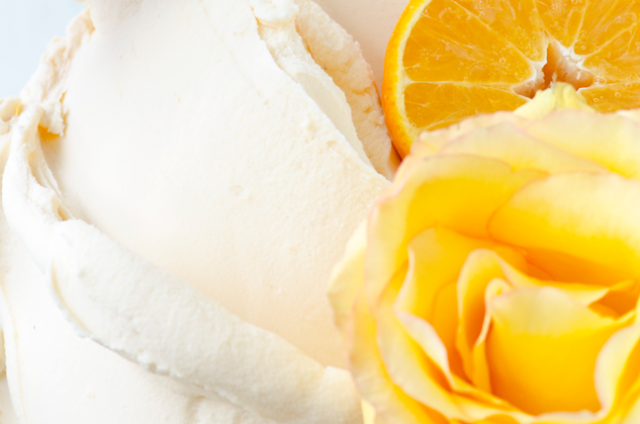 Orange Rosewater Sorbetto