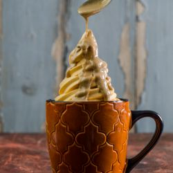 Pumpkin Pie Soft Serve