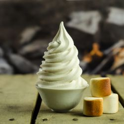 Toasted Marshmallow Soft Serve (Prep Time: 15min.) Image