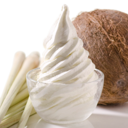 Coconut Lemongrass Soft Serve Image