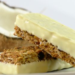 Coconut Granola Bars with Protein Image