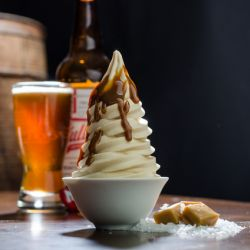 Fullsteam Lager Salted Caramel Soft Serve Image