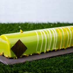 Pistachio Orange Entremet Image