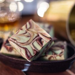 Grasshopper Fudge Image