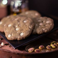White Chocolate Pistachio Cookie Image