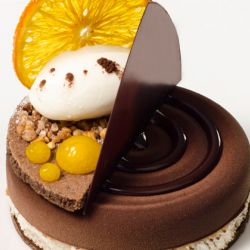 Tropical Chocolate Entremet Image