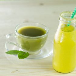 Green Tea Mango Smoothie Image