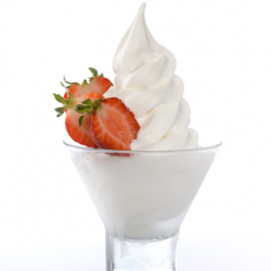 White Base Soft Serve Image