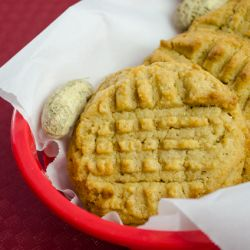 Classic Peanut Butter Cookies Image