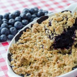 Blueberry Cobbler Image