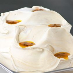 Coconut Caramel Passion Fruit Gelato