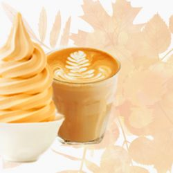 Pumpkin Spice Latte Soft Serve Image