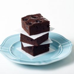 Chocolate & Amarena Brownies Image
