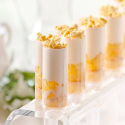 Chipotle Pineapple Pannacotta Push Pop